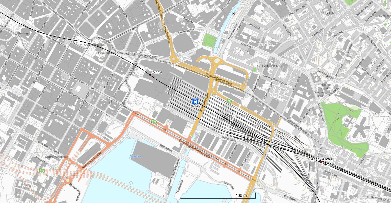 oslo s kart Oslo S [Network statement] oslo s kart